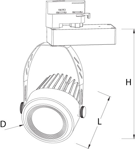 led 3 Phasenstrahler_size TBRWGOLD423002